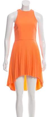 Christopher Kane Pleated Wool Dress