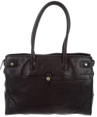Ghurka Grained Leather Tote