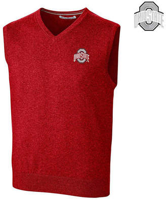 Cutter & Buck Men's Ohio State Buckeyes Lakemont Sweater Vest