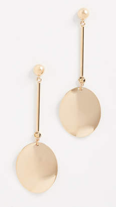 Kate Spade Gold Standard Linear Earrings