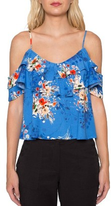 Women's Willow & Clay Cold Shoulder Tank $69 thestylecure.com