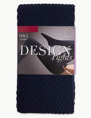 Marks and Spencer Waffle Heavyweight Opaque Tights