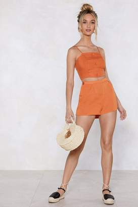 Nasty Gal Back to Back High-Waisted Shorts