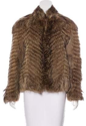 Fur Zip Jacket