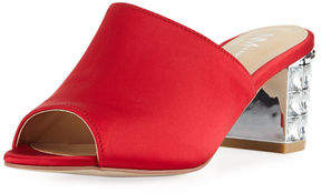 Neiman Marcus Carly Slide Mule