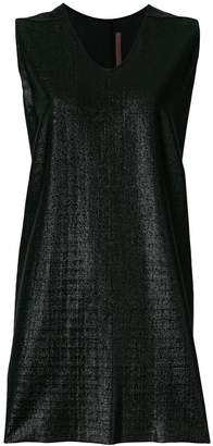 Rick Owens Lilies shimmery sleeveless top