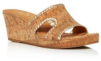 Jack Rogers Jack Rodgers Women's Sloane Wedge Sandals