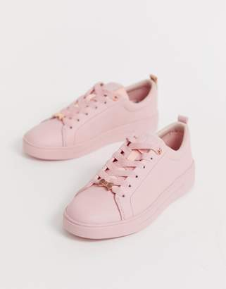 4f3484aea9ee6c Ted Baker Pink Trainers For Women - ShopStyle UK