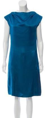 RED Valentino Satin Shift Dress