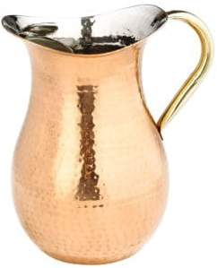 Old Dutch 2.25-Quart Decor Hammered Water Pitcher