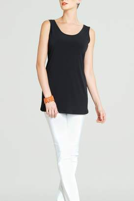 Clara Sunwoo Black Sleeveless Tunic Top