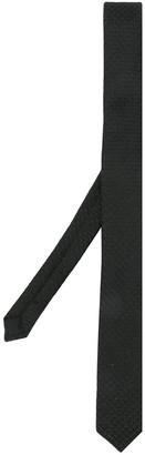 Saint Laurent textured narrow tie
