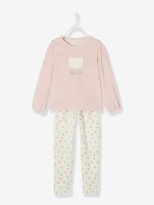 Vertbaudet Velour Pyjamas for Girls