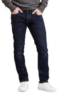 Levi's Premium Slim-Fit Dark Wash Jeans