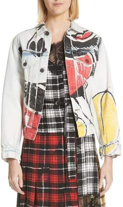 Marc Jacobs Mickey Denim Jacket