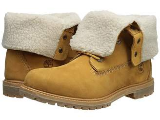 Timberland Authentics Teddy Fleece Fold-Down Women's Lace-up Boots