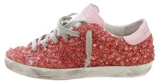 Golden Goose Studded Superstar Sneakers