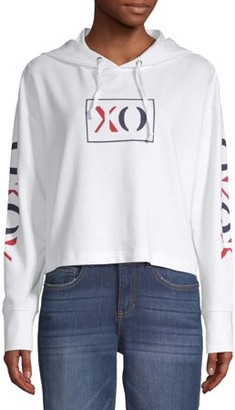 XOXO Juniors' Cropped Hoodie