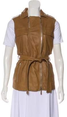 Gucci Casual Leather Vest
