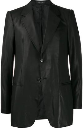 Giorgio Armani Pre-Owned 2005 double buttons slim blazer