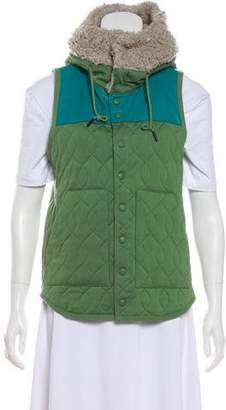 Y-3 Hooded Quilt Vest