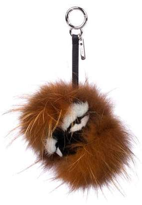 Fendi Punchy Fur Bag Bug Charm