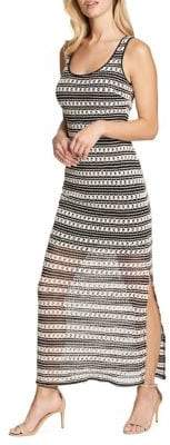 GUESS Colorblock Striped Dress