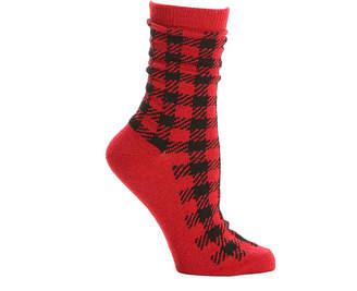 Kelly & Katie Buffalo Plaid Crew Socks - Women's