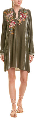 Johnny Was Silk-Blend Tunic Dress
