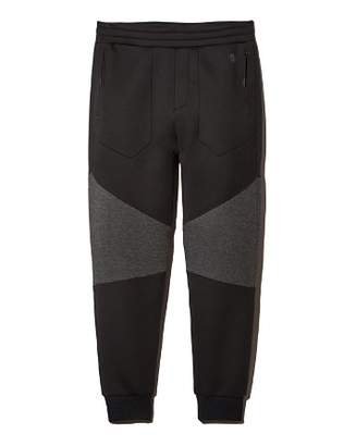 Isaora Neoprene Color-Block Panel Jogger Pants