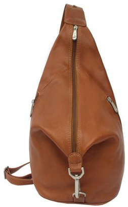 Piel Leather THREE-ZIP HOBO SLING