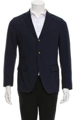 Eleventy Wool Three-Button Blazer