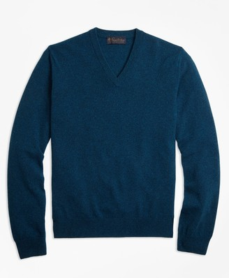 Brooks Brothers V-Neck Cashmere Sweater