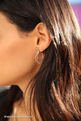 Urban Outfitters Margot Lucite Hoop Earring