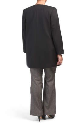 Plus Twill Topper Long Sleeve Jacket