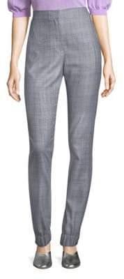Tibi Checkered Smock Pants