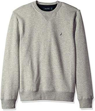 Nautica Men's Basic Crew Neck Fleece Sweatshirt