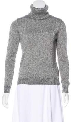 Ralph Lauren Black Label Metallic Turtleneck Sweater
