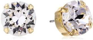 "Sorrelli Emerald"" Round Crystal Stud Earrings Essentials"