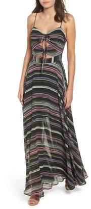WAYF Chelsea Knot Maxi Dress