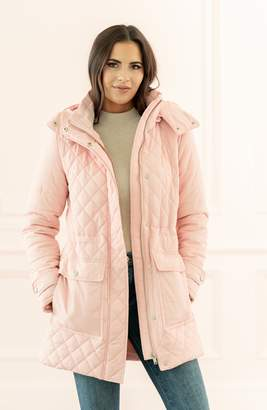 Rachel Parcell Rachel Parcel Quilted Hooded Parka