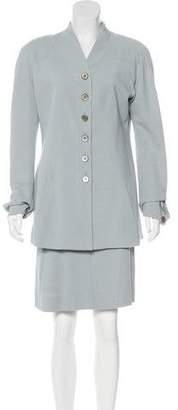 Karl Lagerfeld Paris Woven Skirt Suit