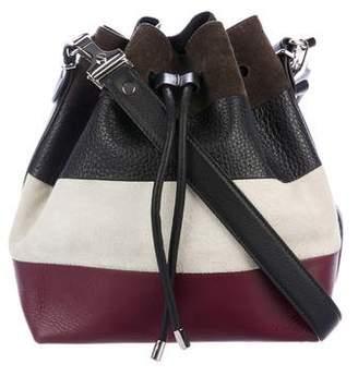 Proenza Schouler Striped Crosby Bucket Bag