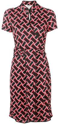 Diane von Furstenberg Jovie keyhole dress