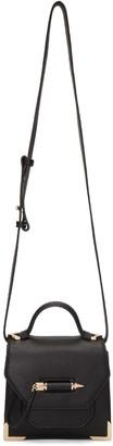 Mackage Black Mini Rubie Messenger Bag $375 thestylecure.com