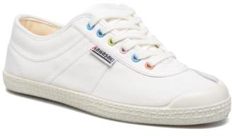 Men's Basic Retro Lace-Up Trainers In White - Size Uk 9 / Eu 43