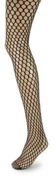 Wolford Madeline Fishnet Tights