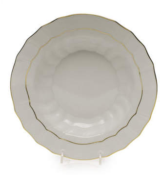 Herend Golden Edge Soup Bowl, Large