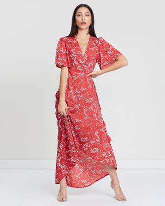 Missguided High-Low Wrap Dress