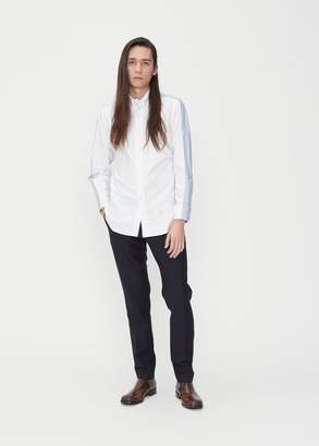 Thom Browne Bicolor Classic Long Sleeve Shirt